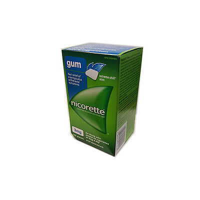 Nicorette Chewing Gum 2mg Extreme Chill