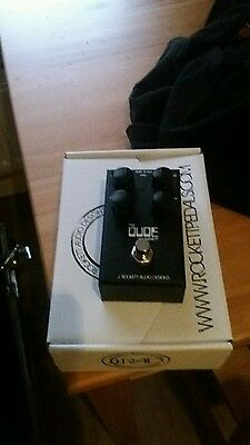 Rockett the dude overdrive pedal