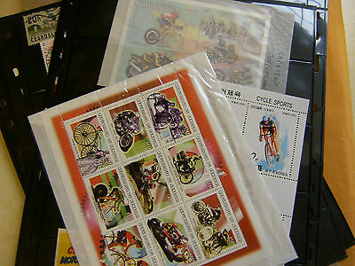 Stamps Cycling Thematic Collection.
