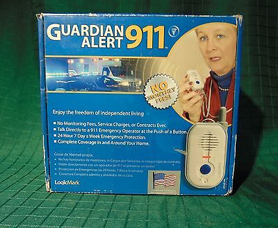Guardian Alert 911 by LogicMark LLC Push Button 911 Access. Peace Of Mind