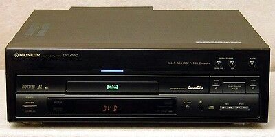Pioneer dvl-700 LaserDisc and DVD Player