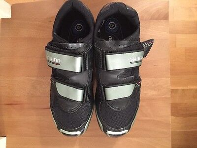 Shimano Cycling Road Bike Shoes (Size 43) with SH56 Multi-Release MTB SPD Cleats