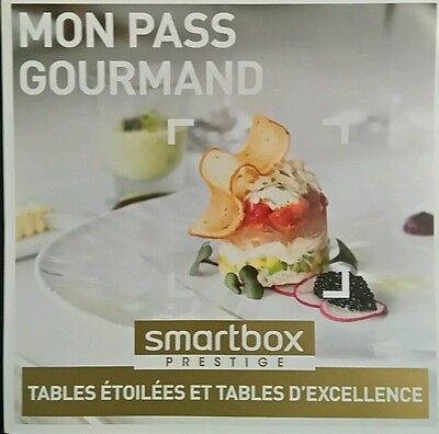 smartbox prestige tables étoilées et tables d excellence