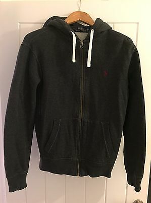 ralph lauren jumper/ Hoodie Dark Grey Medium
