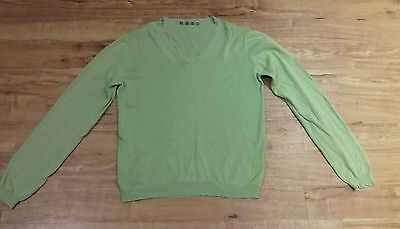 Men's green Topman jumper, size S. Fair condition