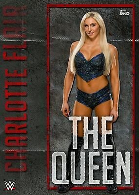 Topps Slam WWE Card Trader Nicknames The Queen Charlotte Flair