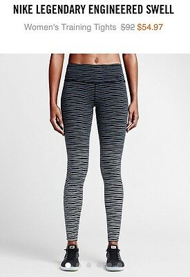 Nike Wmns Legendary Swell Printed Tights size XL 100% Authentic