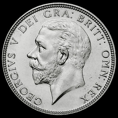1927 George V Silver Proof Florin, Rare,  #2