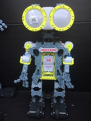 Meccano Tech Meccanoid G15 Personal Robot 2ft Tall Voice Controll Bluetooth