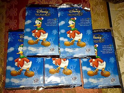 Disney Holiday Treasures Collectable Cards X 25 Princesses / Mickey & Friends