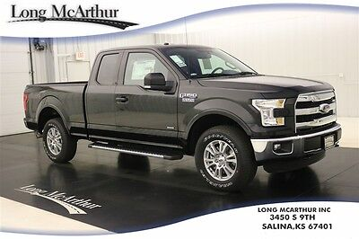 2016 Ford F-150 LARIAT 4X4 TURBOCHARGED SUPERCAB NAV MSRP $47025 4WD VOICE NAVIGATION LEATHER SEATS REAR VIEW CAMERA PUSH BUTTON START