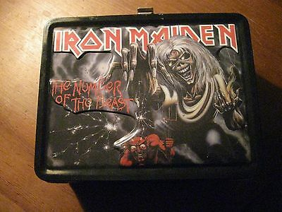 Iron Maiden Lunchbox & Thermos Mint