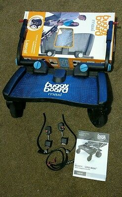 Lascal Buggy Board Maxi In Box. Good condition.