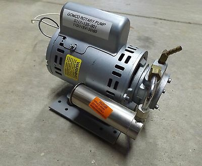 Reliance GAST R-G288RX with Mounted Gomco Rotary Vane Pump S117-135-001