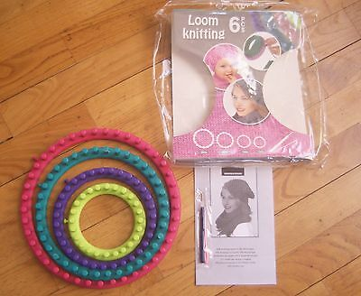 Tricot Bonnet / Loom Set Complet Tricotin Neuf