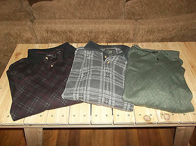 Lot of Mens Long Sleeved Polo Shirts XXL