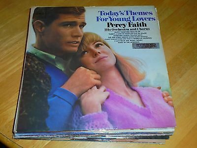 LP/ PERCY FAITH ORCHESTRA /TODAYS THEMES FOR YOUNG LOVERS (1960s AUSTRALIAN CBS