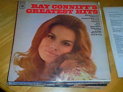 LP/ RAY CONNIFF /GREATEST HITS (1960s STEREO AUSTRALIAN CBS