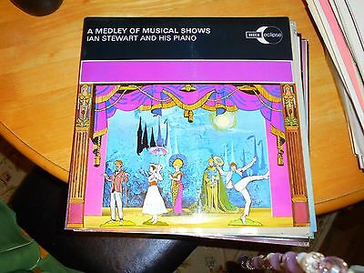 Lp / Ian Stewart And His Piano /a Medley Of Musical Shows (1968 Uk Decca Eclipse