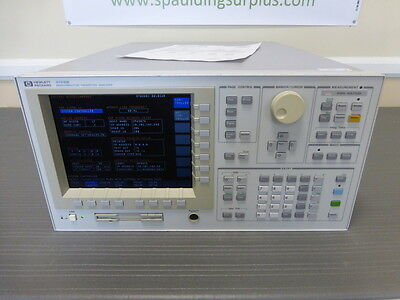 Agilent / HP 4155B Semiconductor Parameter Analyzer - CALIBRATED!