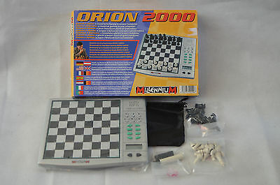Millennium Orion 2000 electronic chess Contents new & Sealed - missing manual