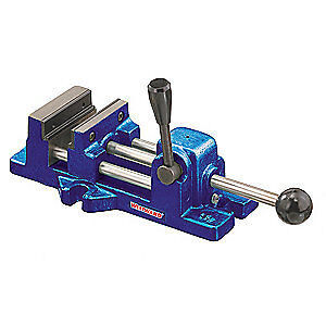 WESTWARD Drill Press Vise,Stationary,3 In, 10D750