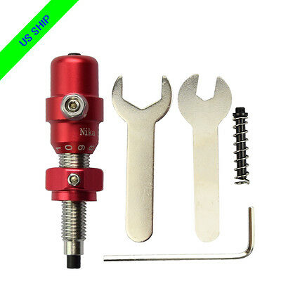 1X Pressure Cushion Plunger Archery Recurve Bows Screw on Arrow Rests Red
