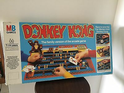 Retro Board Game Donkey Kong MB Games (NZ)