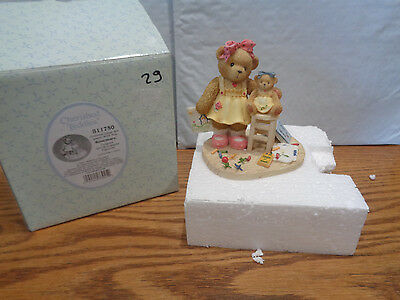 2001 Cherished Teddies - Rosemary - Colorful Days Are Spent With You - #811750
