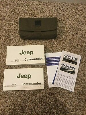 2008 08 Jeep Commander Owners Manual