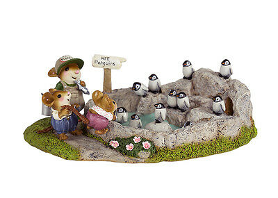 Wee Forest Folk M-445v PENGUIN POOL- Exclusive for Creative Hands ZOO Series