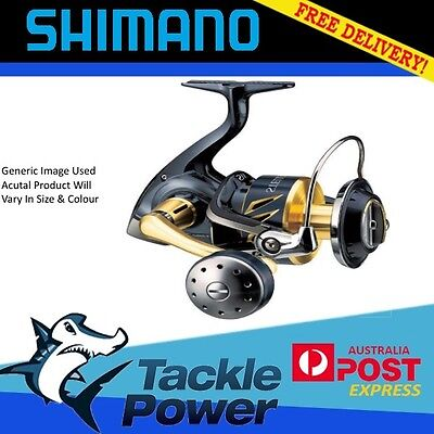 Shimano Stella 8000 SWBHG Spinning Fishing Reel Brand New! 10yr Warranty!