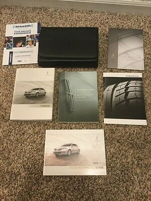 2013 13 Lincoln Mkz Owners Manual Kit
