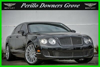 2009 Bentley Continental Flying Spur Speed 2009 Speed Used Turbo 6L W12 60V Automatic AWD Premium