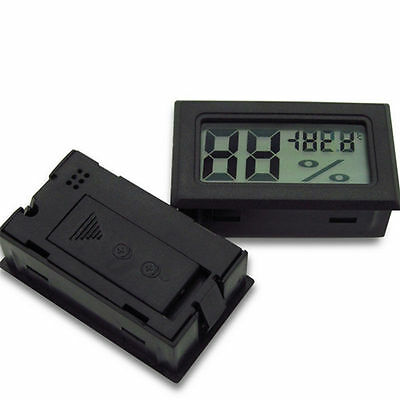 Mini Digital LCD Indoor Hot Thermometer Hygrometer New Temperature Humidity AU
