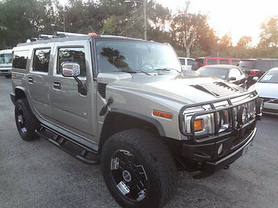 2003 Hummer H2 Premium 2003 H2 PREMIUM SUV~LOTS OF EXTRAS~DVD/BOSE/SUNROOF/PREMIUM WHEELS~WARRANTY~NICE