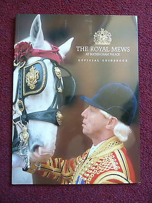 Queen Elizabeth Buckingham Palace Royal Mews Official Guide Book