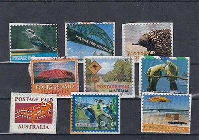 Australia - Interesting Selection of Postage Paid Indicia Cinderella Stamps Lot1