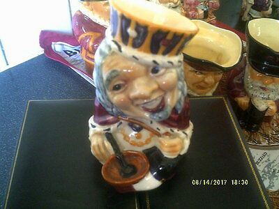 Vintage Old King Cole Toby Jug,shorter And Son