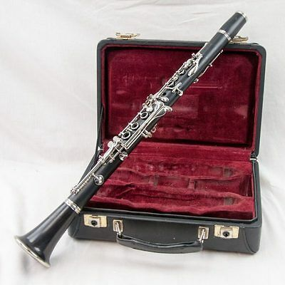 Buffet Crampon R13 Professional Wood Clarinet, Great Player, + New Pads & Case!