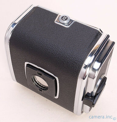 Hasselblad A12 Chrome Trim 120 Film Back w/ Matching Insert 12 Release RC