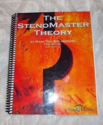 The Stenomaster Theory Book and First Edition Addendum By Kislingbury - 2 Books