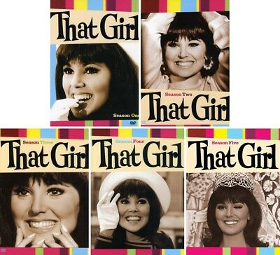 That Girl (Marlo Thomas) Complete TV Series Season 1-5 1 2 3 4 5 NEW DVD BUNDLE