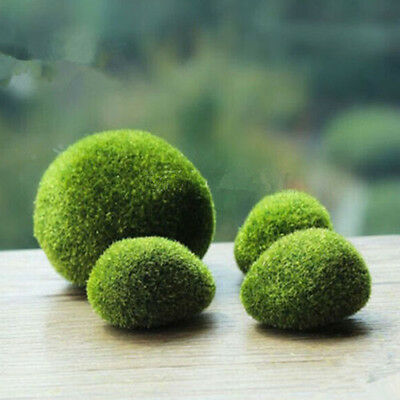Aquarium Moss ball Grass Stones Moss Ball Plants for Fish Tank Landscape Decor