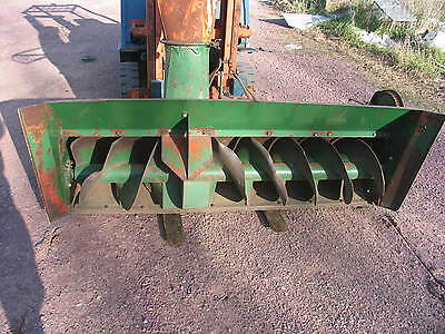 """6' 5""""  Wide Badger Snow Master    3 Point Snow Blower 540 PTO"""