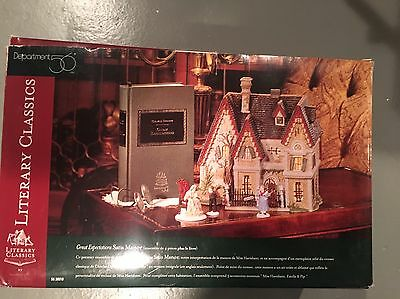 """Dept 56 Dickens Literary Classics """"Great  Expectations"""" Satis Manor Great Shape!"""