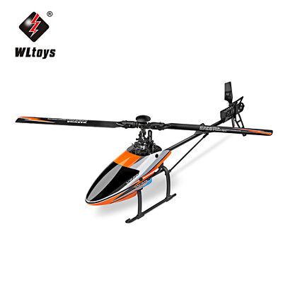 WLtoys V950 3D/6G Mode Flybarless Brushless Motor RC Ready to Fly Helicopter Toy
