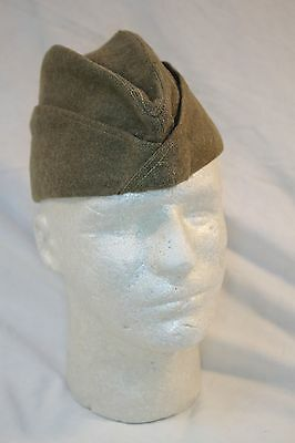WW1 U.S. Army Issue Wool Overseas Cap  c21