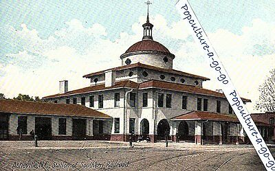 Southern Railroad Station, Asheville, N.C. – H.G. Leighton Co., Germany – color