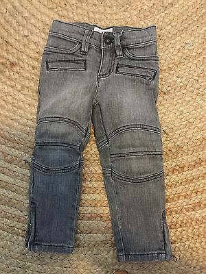 Country Road Kids Faded Black Denim Jeans. Size 2. EUC. As New!